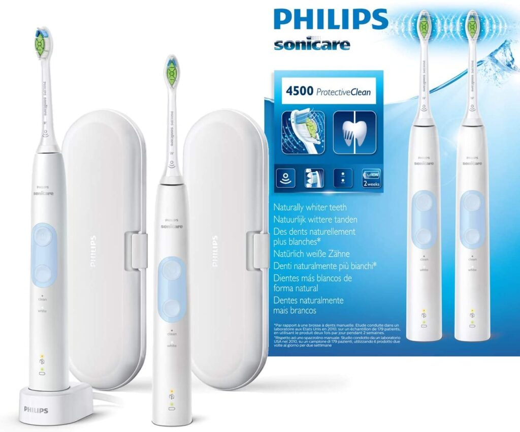 Pack 2 Philips Sonicare ProtectiveClean